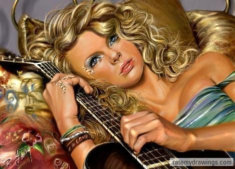 Taylor Swift por Roxana1890